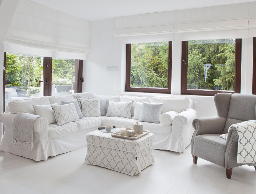 Wohnzimmer im skandinavischen Stil