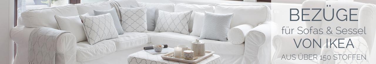 Sofabezüge für Ikea- Modelle