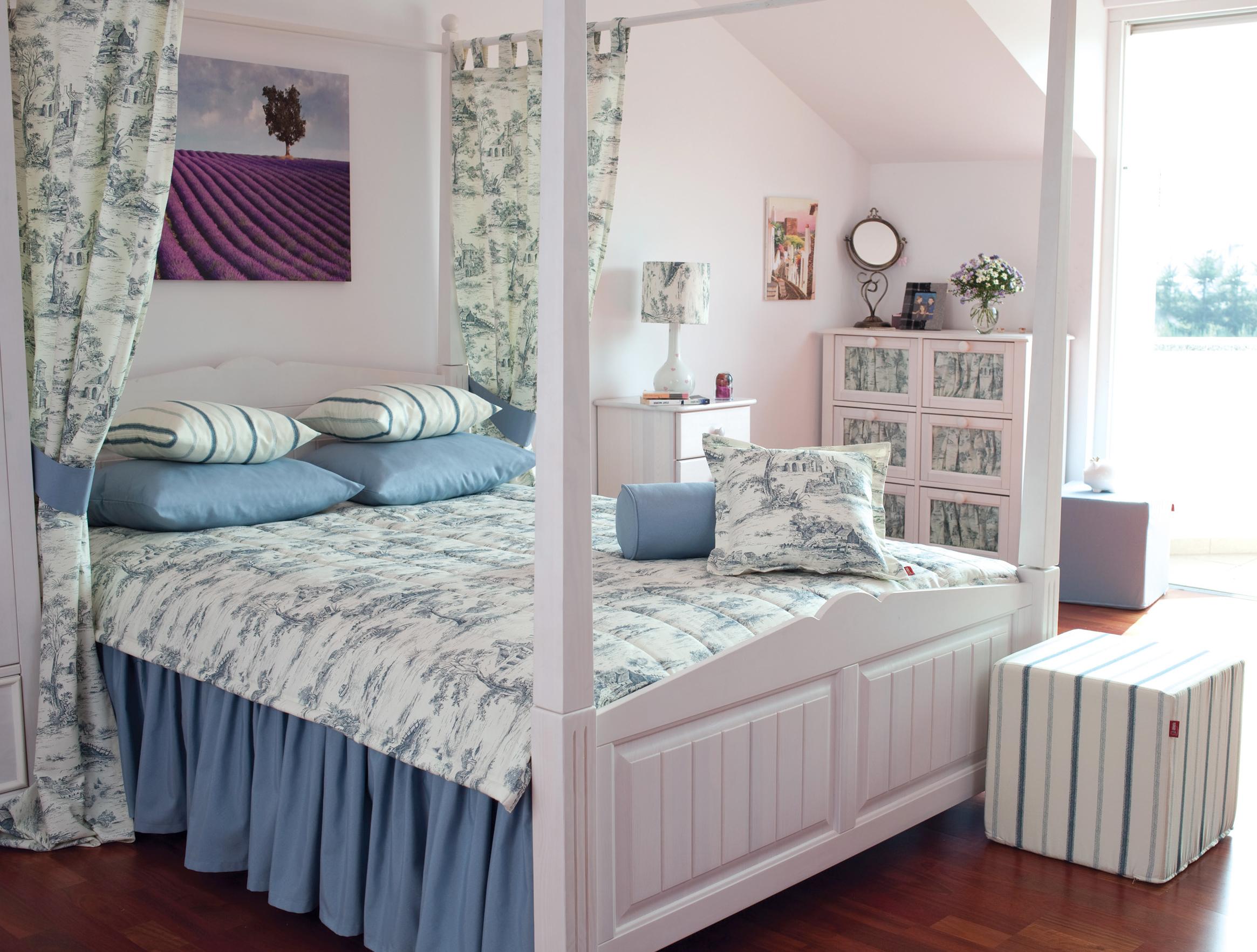 Schlafzimmer im Shabby Chic