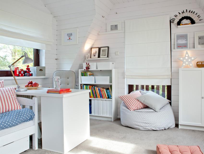 Jugendzimmer im skandinavischen Stil