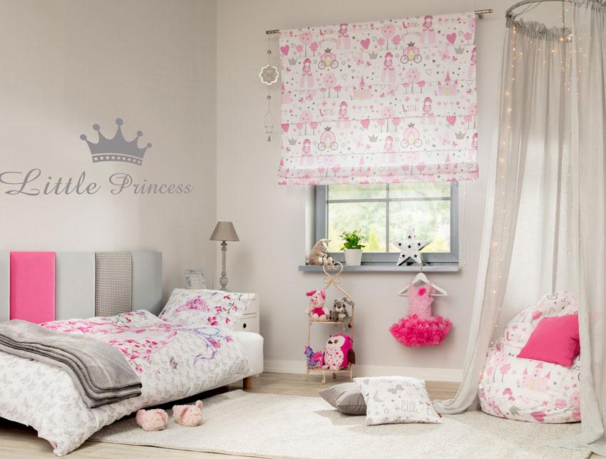Mädchenzimmer in Rosa