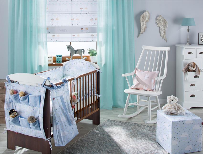 Babyzimmer in Pastellfarben