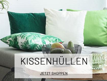 Kuschelige Kissenhüllen für Ihr Sofa