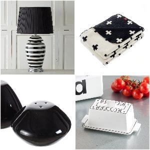 Dekoria PR Materialien/Farben schwarz weiß