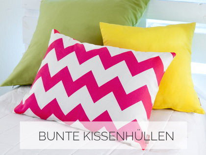 Bunte Kissenhullen