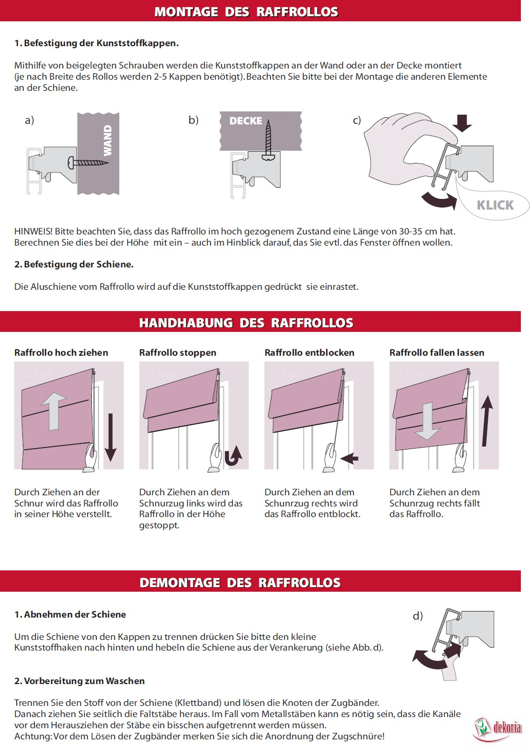 raffrollo padva weiss 160 x 170 cm ebay. Black Bedroom Furniture Sets. Home Design Ideas